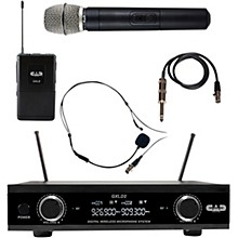 CAD GXLD2HBAH Digital Dual Channel Wireless System handheld and bodypack microphone system