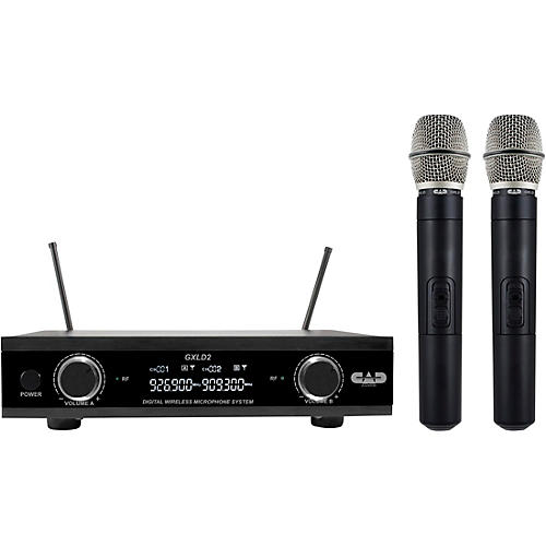 CAD GXLD2HH Handheld Microphone Wireless Systems AI: 909.3/926.8MHz