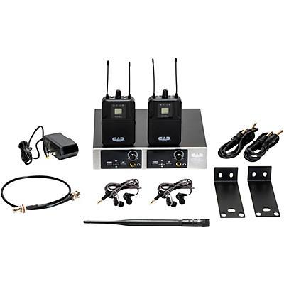 CAD GXLIEM2 Dual Wireless In Ear Monitor System