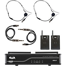 Open Box CAD GXLVBB Dual Channel VHF Wireless System