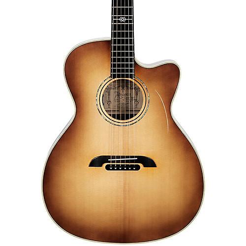 Alvarez GYM70CESHB Yairi Masterworks Grand Auditorium Acoustic/Electric Guitar Shadow Burst
