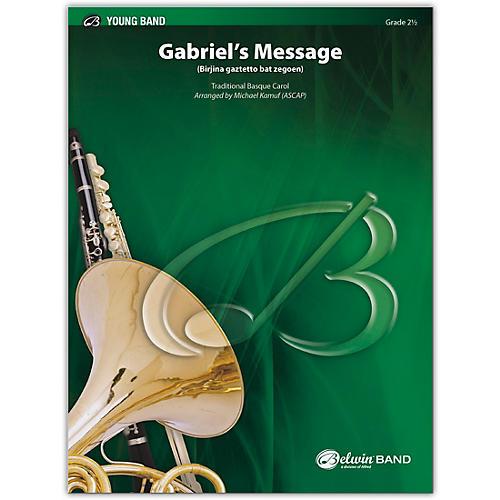 BELWIN Gabriel's Message 2.5 (Easy to Medium Easy)