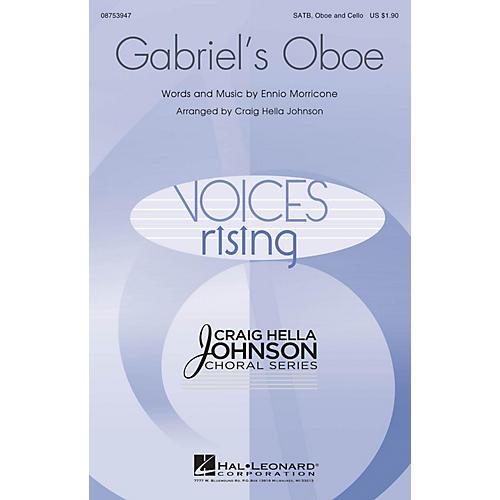 Hal Leonard Gabriel's Oboe SATB OBOE AND CELLO arranged by Craig Hella Johnson
