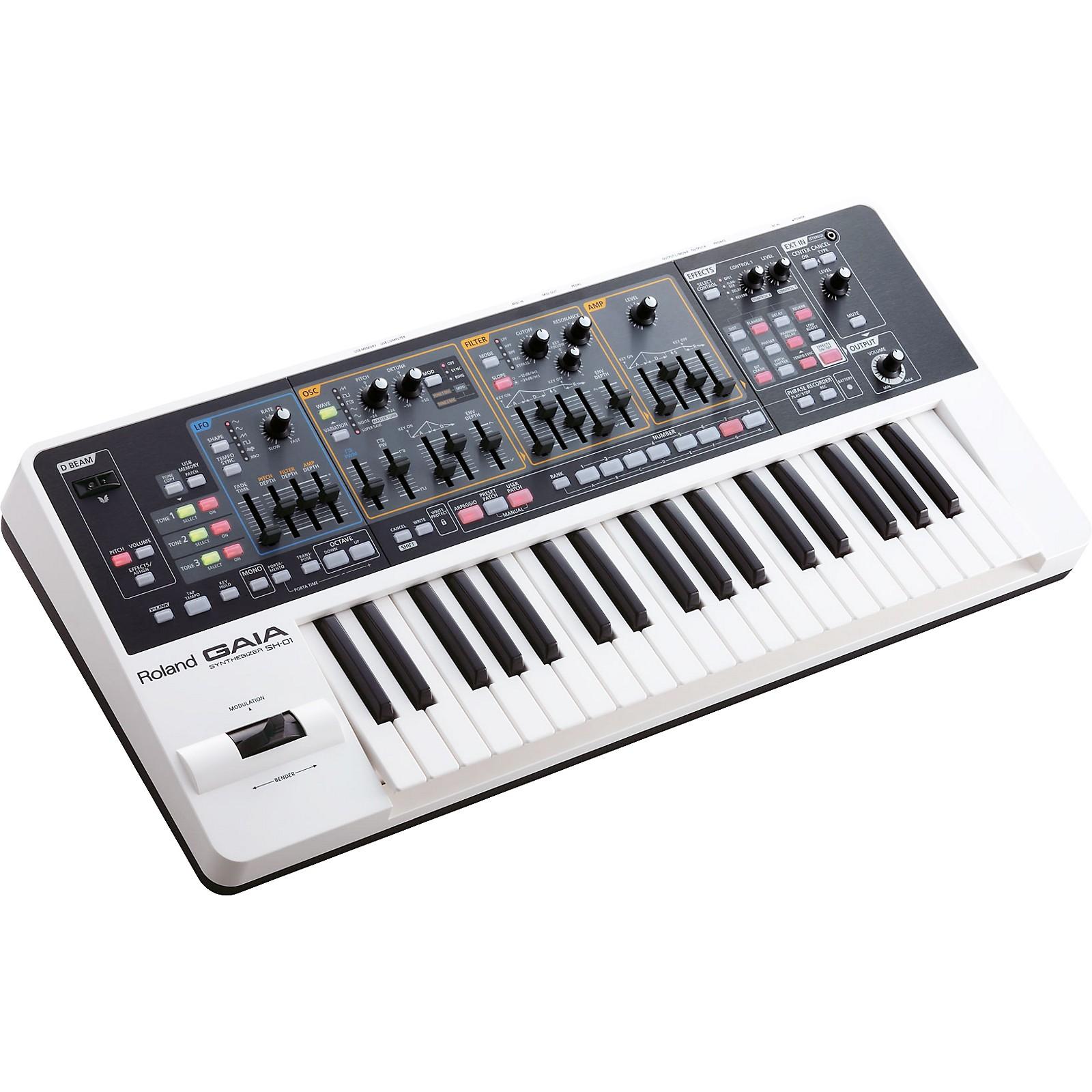 Open Box Roland Gaia Sh 01 Synthesizer Musician S Friend