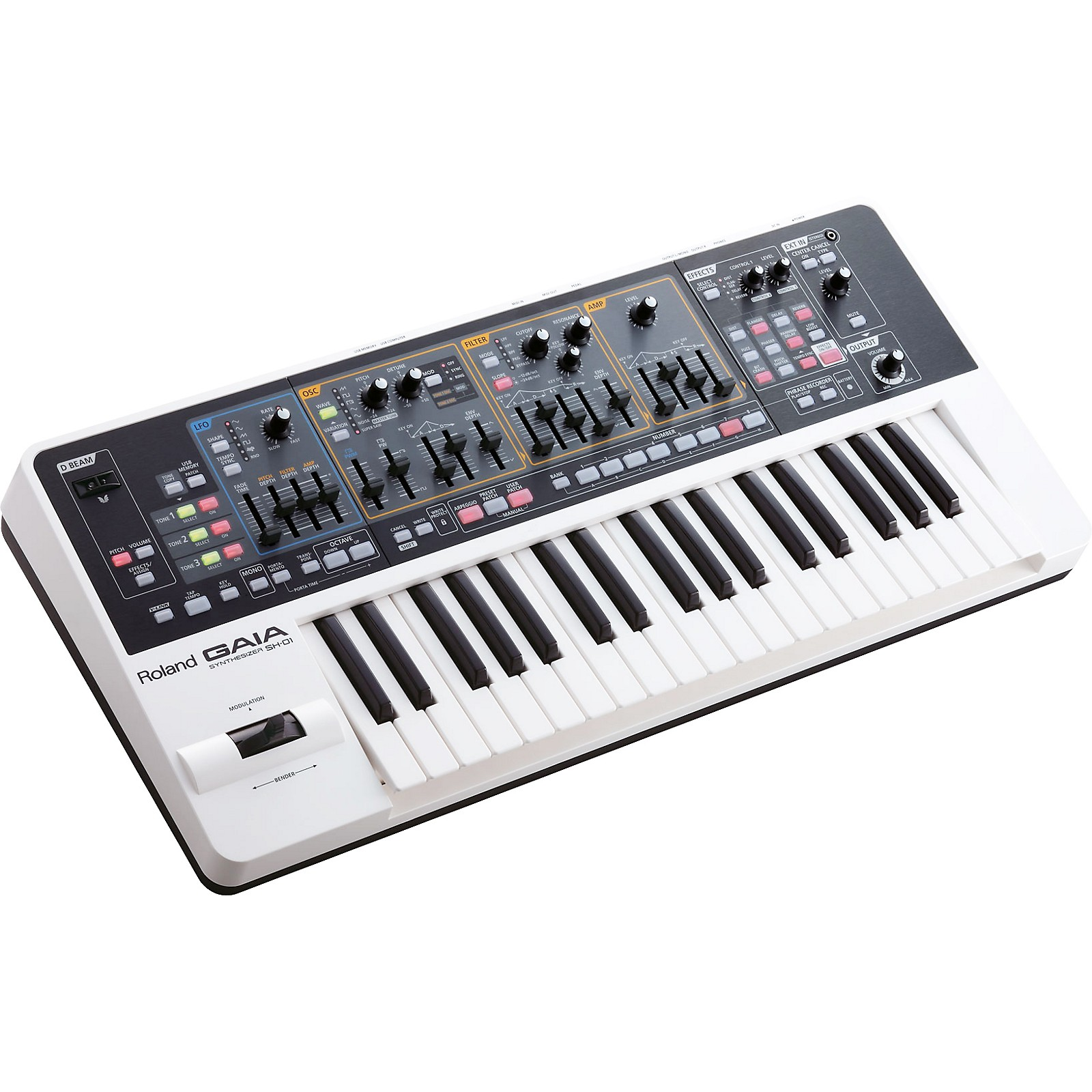 Roland Gaia Sh 01 Synthesizer Musician S Friend