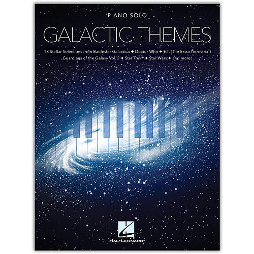 Hal Leonard Galactic Themes Piano Solo Songbook