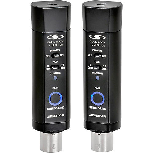 Galaxy Audio Galaxy Audio JIB/BT4RS XLR Bluetooth Dual Receivers