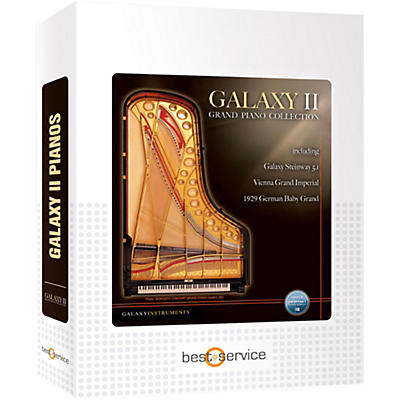 Best Service Galaxy II German Baby Grand