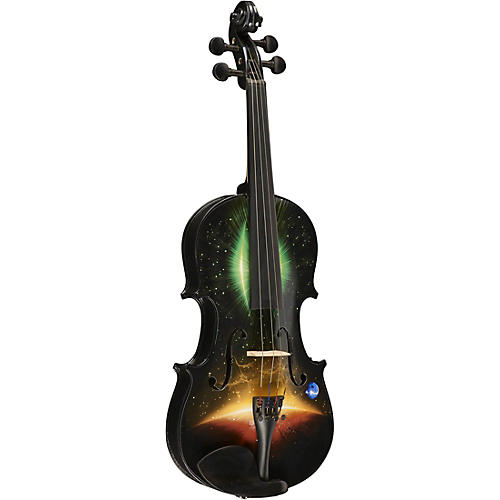 Rozanna's Violins Galaxy Ride Series Violin Outfit Condition 1 - Mint 3/4