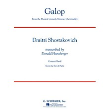 G. Schirmer Galop (from the musical comedy Moscow, Cheremushky) Concert Band Level 4 Composed by Dmitri Shostakovich