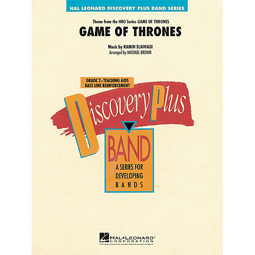 Hal Leonard Game Of Thrones - Discovery Plus! Band Series Level 2