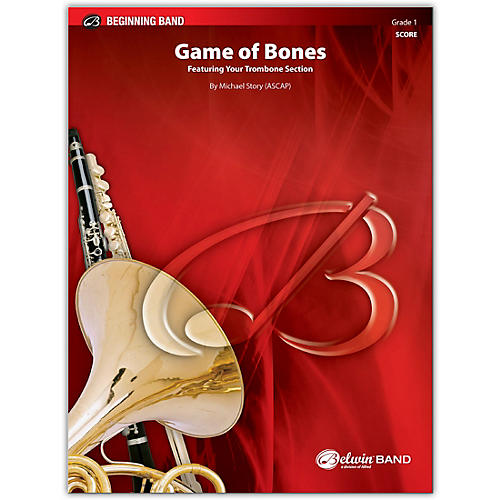 BELWIN Game of Bones Conductor Score 1 (Very Easy)
