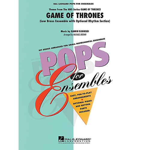 Hal Leonard Game of Thrones (Theme) Concert Band Level 2-3 Arranged by Michael Brown