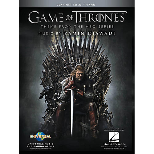 Hal Leonard Game of Thrones for Clarinet & Piano (Theme from the HBO Series) Instrumental Solo