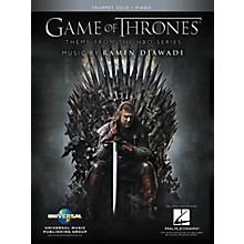 Hal Leonard Game of Thrones for Trumpet & Piano Instrumental Solo Book