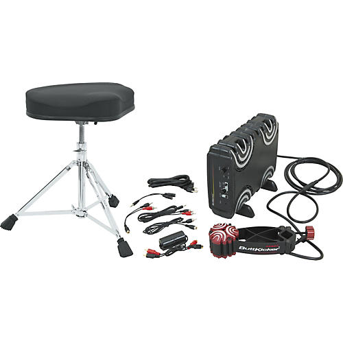 Buttkicker Gamer with Taye Motorcycle Throne