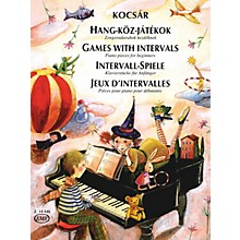 Editio Musica Budapest Games with Intervals (30 Piano Pieces for Beginners) EMB Series