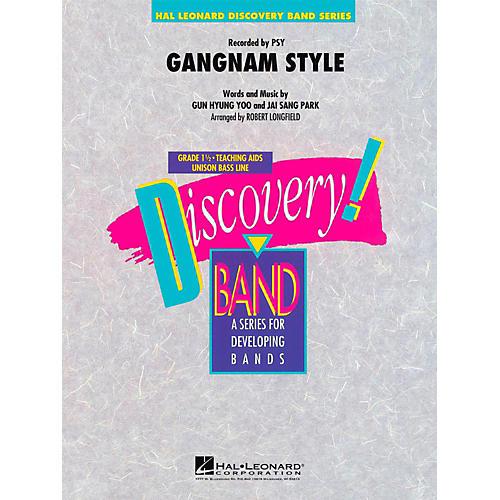 Hal Leonard Gangnam Style  - Discovery Concert Band Level 1