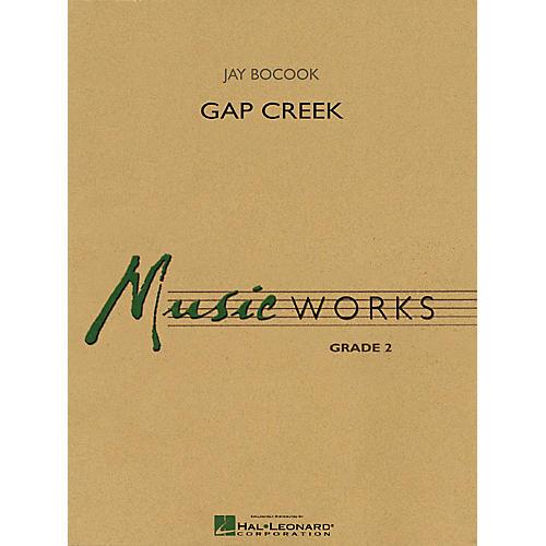 Hal Leonard Gap Creek Concert Band Level 2 Composed by Jay Bocook