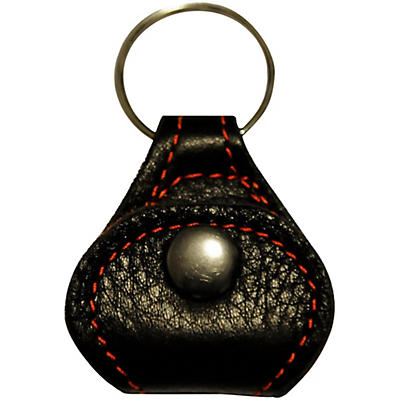 Perri's Garment Leather Keychain Guitar Pick Holder