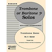 Rubank Publications Garnet (Trombone (Baritone B.C.) Solo with Piano - Grade 2) Rubank Solo/Ensemble Sheet Series Softcover
