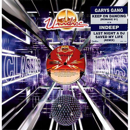 Alliance Gary's Gang - Last Night a DJ Saved My Life / Keep on Dancing