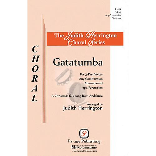 Pavane Gatatumba 3 Part Any Combination arranged by Judith Herrington