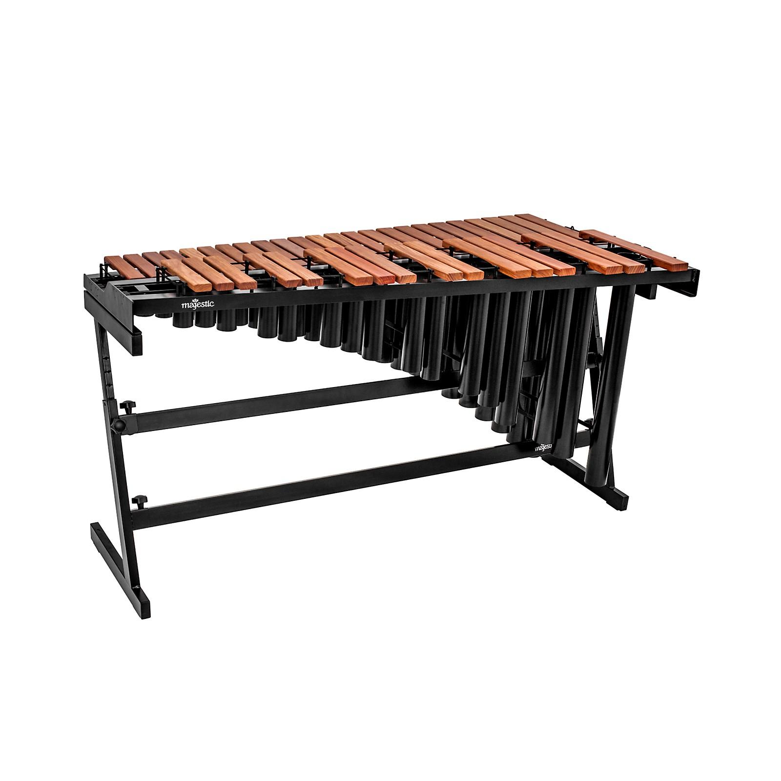 Majestic Gateway Series 3.3-Octave Padauk Bar Practice Marimba w/ Resonators