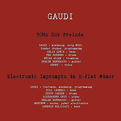 Alliance Gaudi - EP