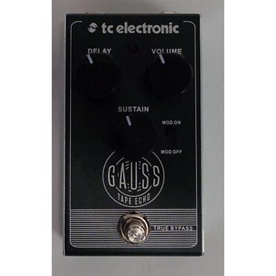TC Electronic Gauss Echo Effect Pedal
