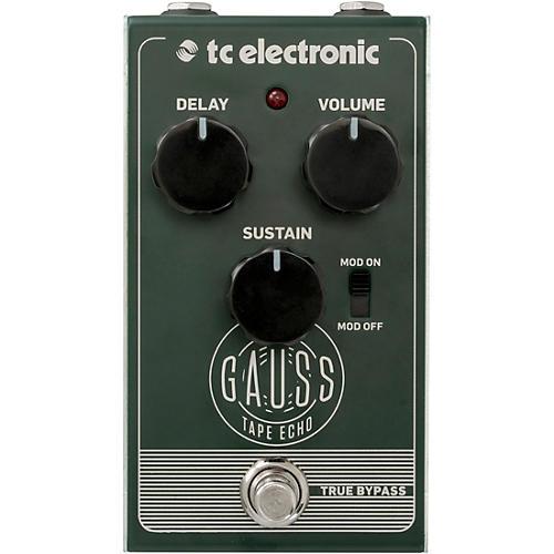 TC Electronic Gauss Echo Effects Pedal