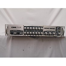 Genz Benz Gbe 750 Bass Amp Head