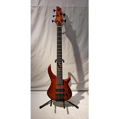 Warmoth Gecko 5 Electric Bass Guitar