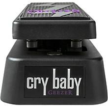 Open BoxDunlop Geezer Butler Crybaby Bass Wah Effects Pedal