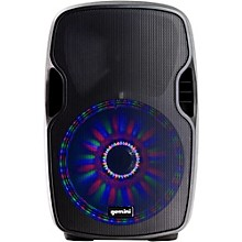 Open Box Gemini AS-08BLU-LT 8 in. Powered Speaker with LED Lights