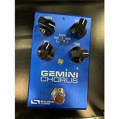 Source Audio Gemini Chrorus Effect Pedal