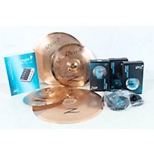 Open BoxZildjian Gen16 Buffed Bronze 13/16/18 Acoustic-Electric Cymbal Pack
