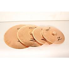 Open BoxZildjian Gen16 Buffed Bronze 14/18/20 Acoustic-Electric Cymbal Pack