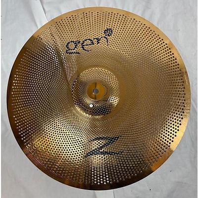 Zildjian Gen16 Buffed Bronze Crash Electric Cymbal