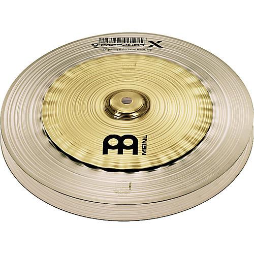 Meinl Generation X Johnny Rabb Safari Hi-Hat Effects Cymbals 12 in.