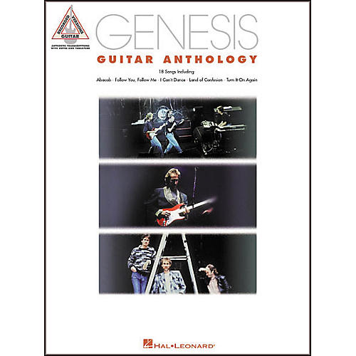 Hal Leonard Genesis Guitar Anthology Guitar Tab Book