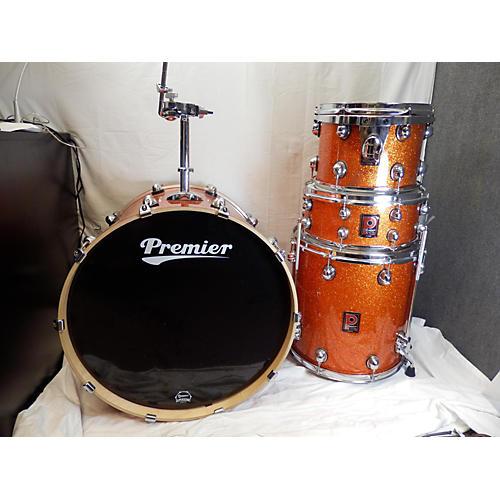 Premier Genista Drum Kit Orange Sparkle