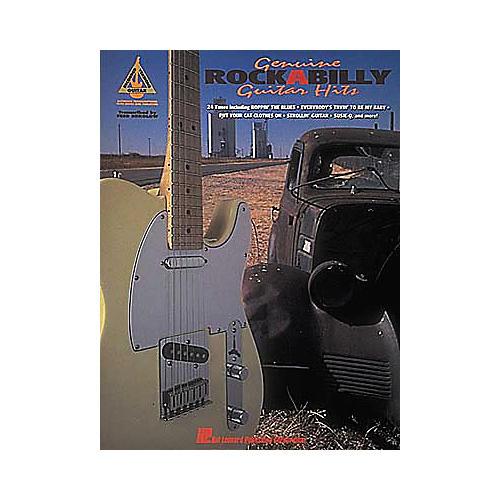 Hal Leonard Genuine Rockabilly Guitar Hits Guitar Tab Book