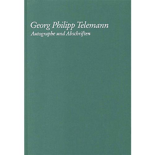 G. Henle Verlag Georg Philipp Telemann - Autographe Und Abschriften Henle Books Series Hardcover