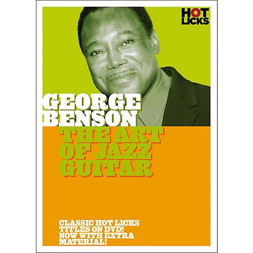 Music Sales George Benson: The Art of Jazz Guitar DVD