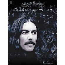 Hal Leonard George Harrison - The Dark Horse Years 1976-1992 Piano/Vocal/Guitar Artist Songbook