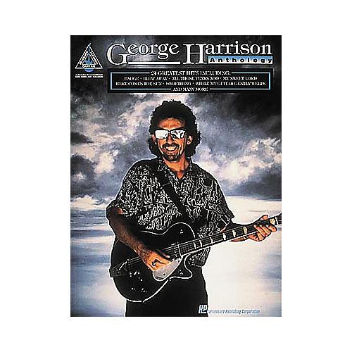 Hal Leonard George Harrison Anthology Guitar Tab Book