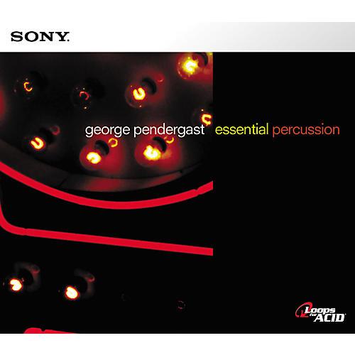 Sony George Pendergast Essential Percussion Acid Loop CD