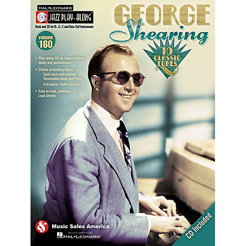Hal Leonard George Shearing - Jazz Play-Along Volume 160 Book/CD
