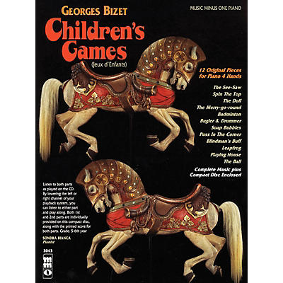 Music Minus One Georges Bizet - Children's Games (Jeux d'Enfants) Music Minus One Softcover with CD by Georges Bizet